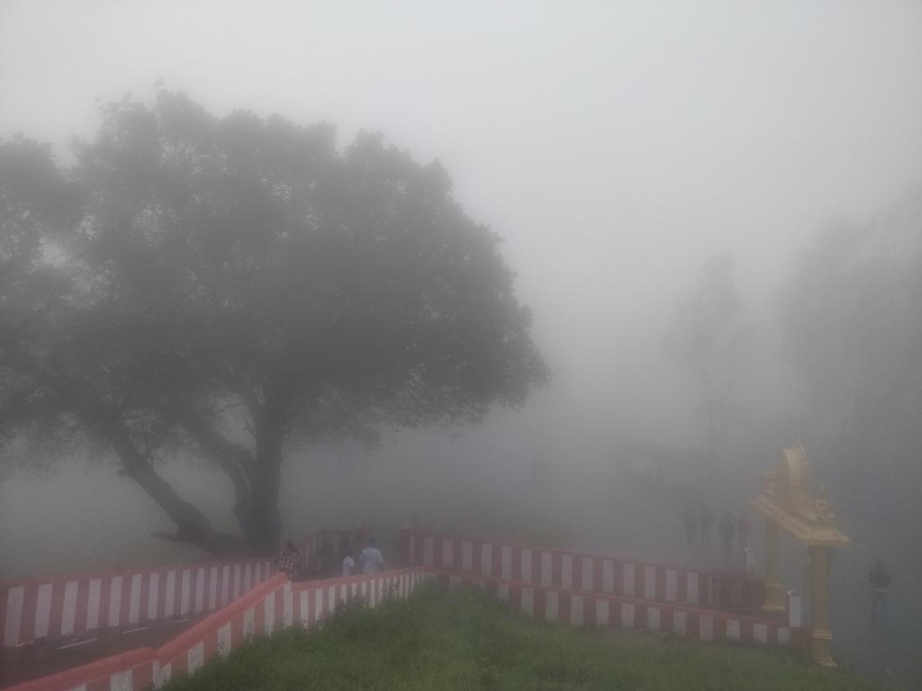 Mist @ Himavad Gopalaswamy Temple