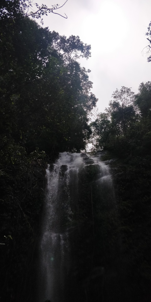 The last fold of the Hidlumane waterfalls