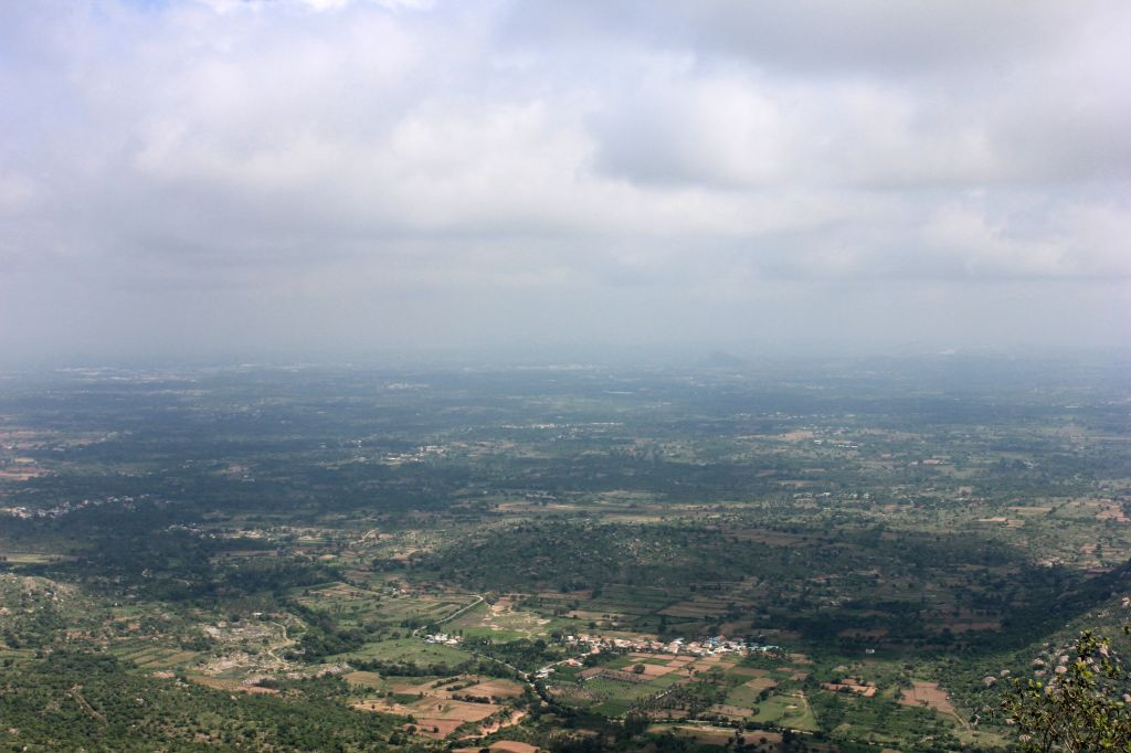 A view from the top @ Bilikal Rangaswamy Betta