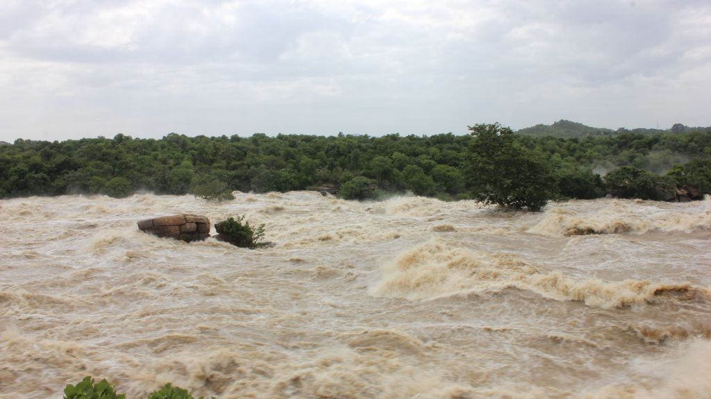 Flooded Cauvery
