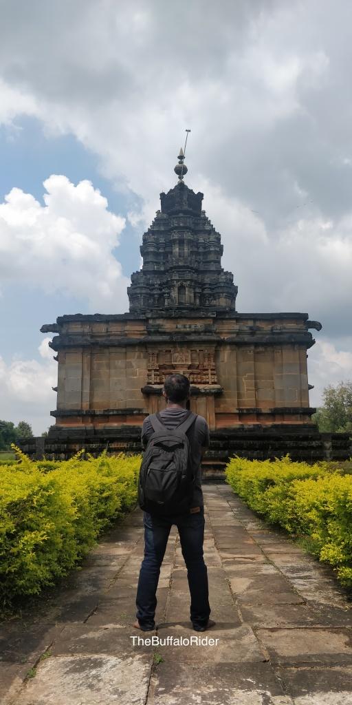 The Buffalo Rider @ Aghoreshwara Temple, Ikkeri