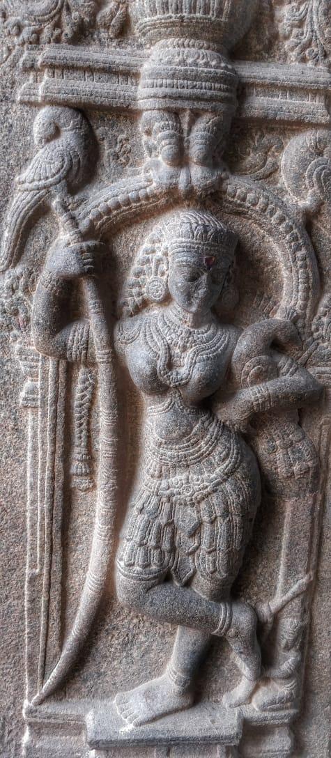 Statue @ Kolaramma Temple